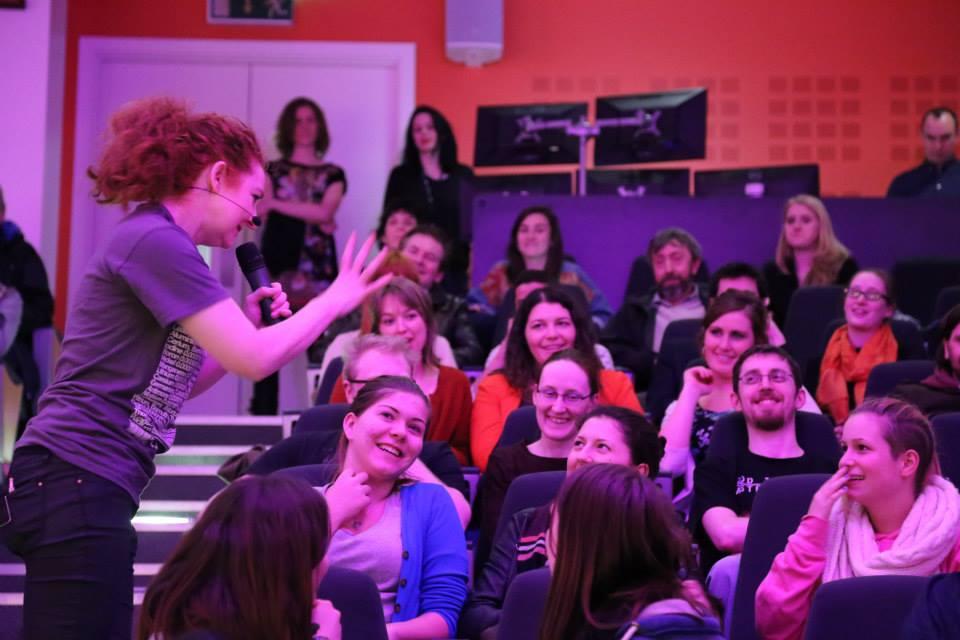 Niamh-Shaw-Science-Gallery-2015 Niamh Shaw, elon musk, nasa, spacex, engineering, richard branson, communication, stem, astronaut, niamh, scientist, artist, perform, esa, polymath, broadcast, blue origin, virgin galactic, niamh shaw, space exploration, norah patten, zero g, irish astronaut, science communication, women in stem, roscosmos, female astronauts, jaxa, baikonur, irish engineering, ireland's first astronaut, multi disciplined, stem advocate, female space explorer, irelands first female astronaut, irelands first person in space, irish female activist, irish female polymath, irish female role model, irish female trailblazer, irish role models, irish space explorer, performer & communicator & space explorer, space advocate, stem communicator