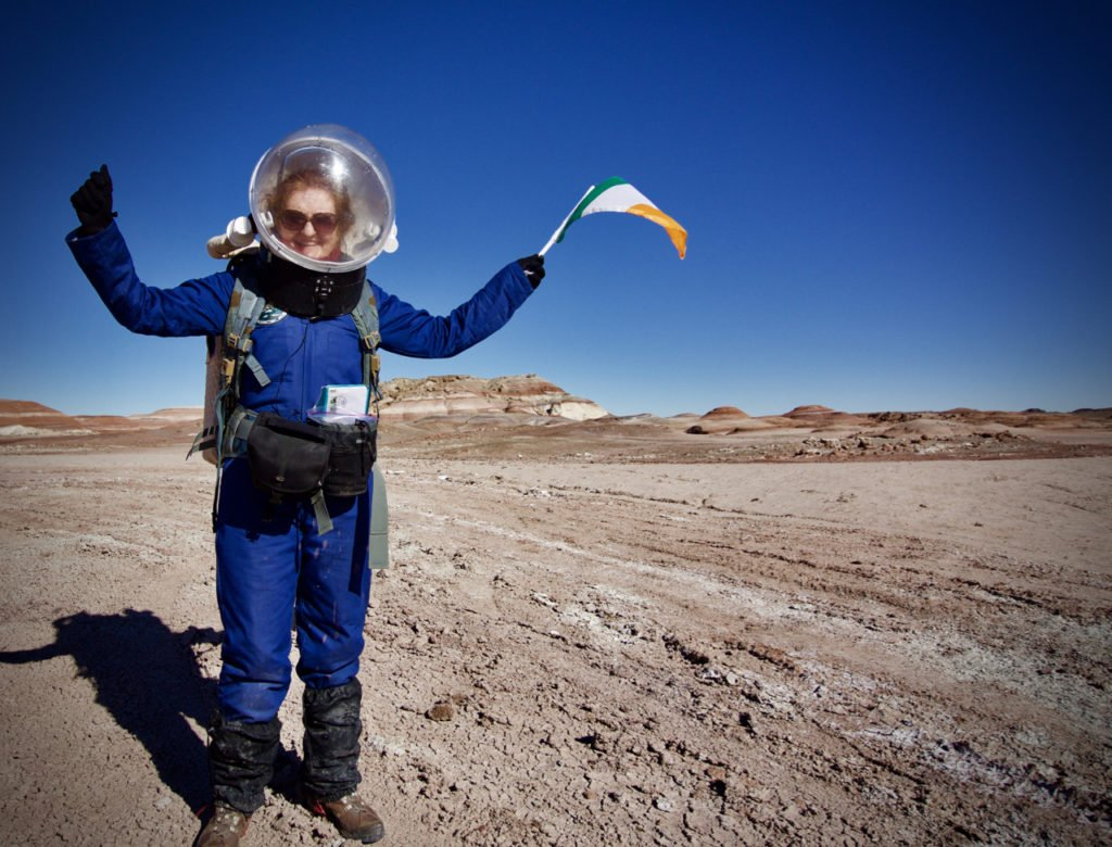 Niamh-on-EVA-5-Credit-Niamh-Shaw Niamh Shaw, elon musk, nasa, spacex, engineering, richard branson, communication, stem, astronaut, niamh, scientist, artist, perform, esa, polymath, broadcast, blue origin, virgin galactic, niamh shaw, space exploration, norah patten, zero g, irish astronaut, science communication, women in stem, roscosmos, female astronauts, jaxa, baikonur, irish engineering, ireland's first astronaut, multi disciplined, stem advocate, female space explorer, irelands first female astronaut, irelands first person in space, irish female activist, irish female polymath, irish female role model, irish female trailblazer, irish role models, irish space explorer, performer & communicator & space explorer, space advocate, stem communicator