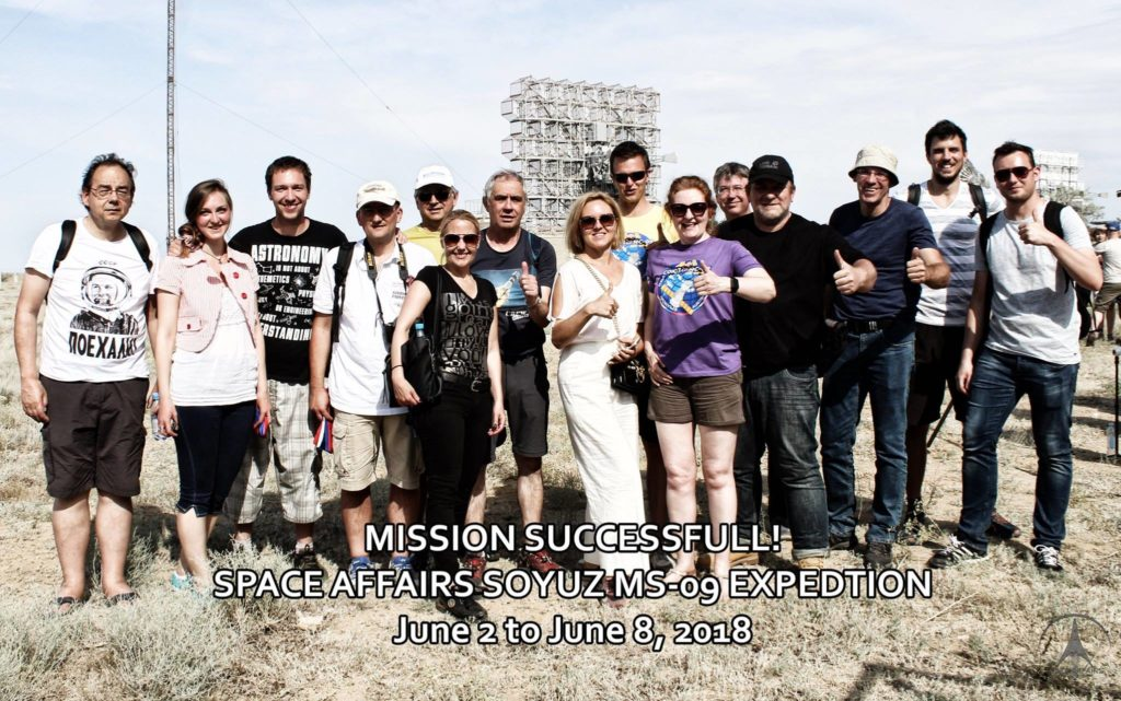 group-pic-launch-day (Credit Space Affairs 2018)