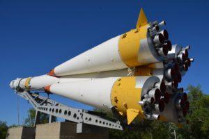 The Soyuz rocket (Credit WP)
