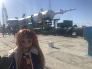 Niamh's Stargazer Lottie at launchpad #1 (Credit: Niamh Shaw)