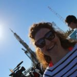 Niamh-at-Launchpad-1-with-Soyuz-MS-09-rocket-in-the-distance-©Space-Affairs-2018-1-1 Niamh Shaw, elon musk, nasa, spacex, engineering, richard branson, communication, stem, astronaut, niamh, scientist, artist, perform, esa, polymath, broadcast, blue origin, virgin galactic, niamh shaw, space exploration, norah patten, zero g, irish astronaut, science communication, women in stem, roscosmos, female astronauts, jaxa, baikonur, irish engineering, ireland's first astronaut, multi disciplined, stem advocate, female space explorer, irelands first female astronaut, irelands first person in space, irish female activist, irish female polymath, irish female role model, irish female trailblazer, irish role models, irish space explorer, performer & communicator & space explorer, space advocate, stem communicator