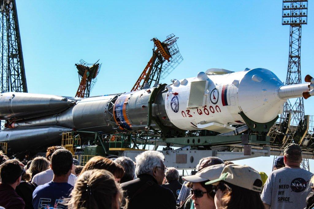 Soyuz-MS-09-rolling-our-from-Site-112-©Space-Affairs-2018 Niamh Shaw, elon musk, nasa, spacex, engineering, richard branson, communication, stem, astronaut, niamh, scientist, artist, perform, esa, polymath, broadcast, blue origin, virgin galactic, niamh shaw, space exploration, norah patten, zero g, irish astronaut, science communication, women in stem, roscosmos, female astronauts, jaxa, baikonur, irish engineering, ireland's first astronaut, multi disciplined, stem advocate, female space explorer, irelands first female astronaut, irelands first person in space, irish female activist, irish female polymath, irish female role model, irish female trailblazer, irish role models, irish space explorer, performer & communicator & space explorer, space advocate, stem communicator