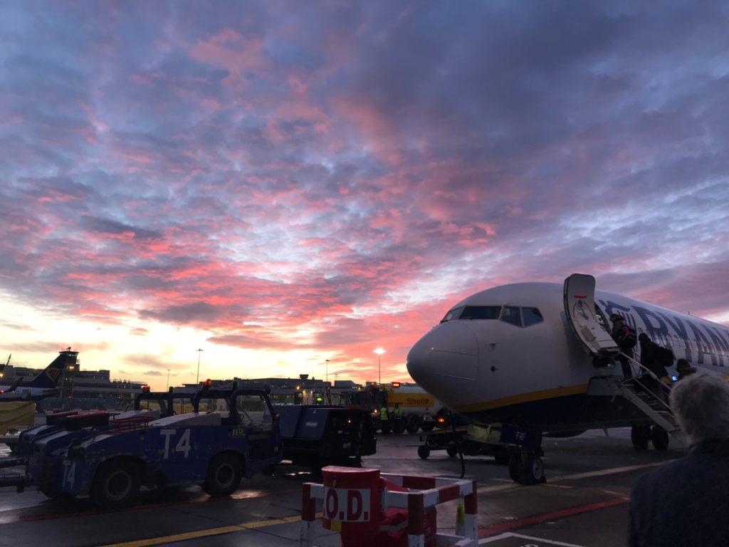 Ryanair flight Dec 17th