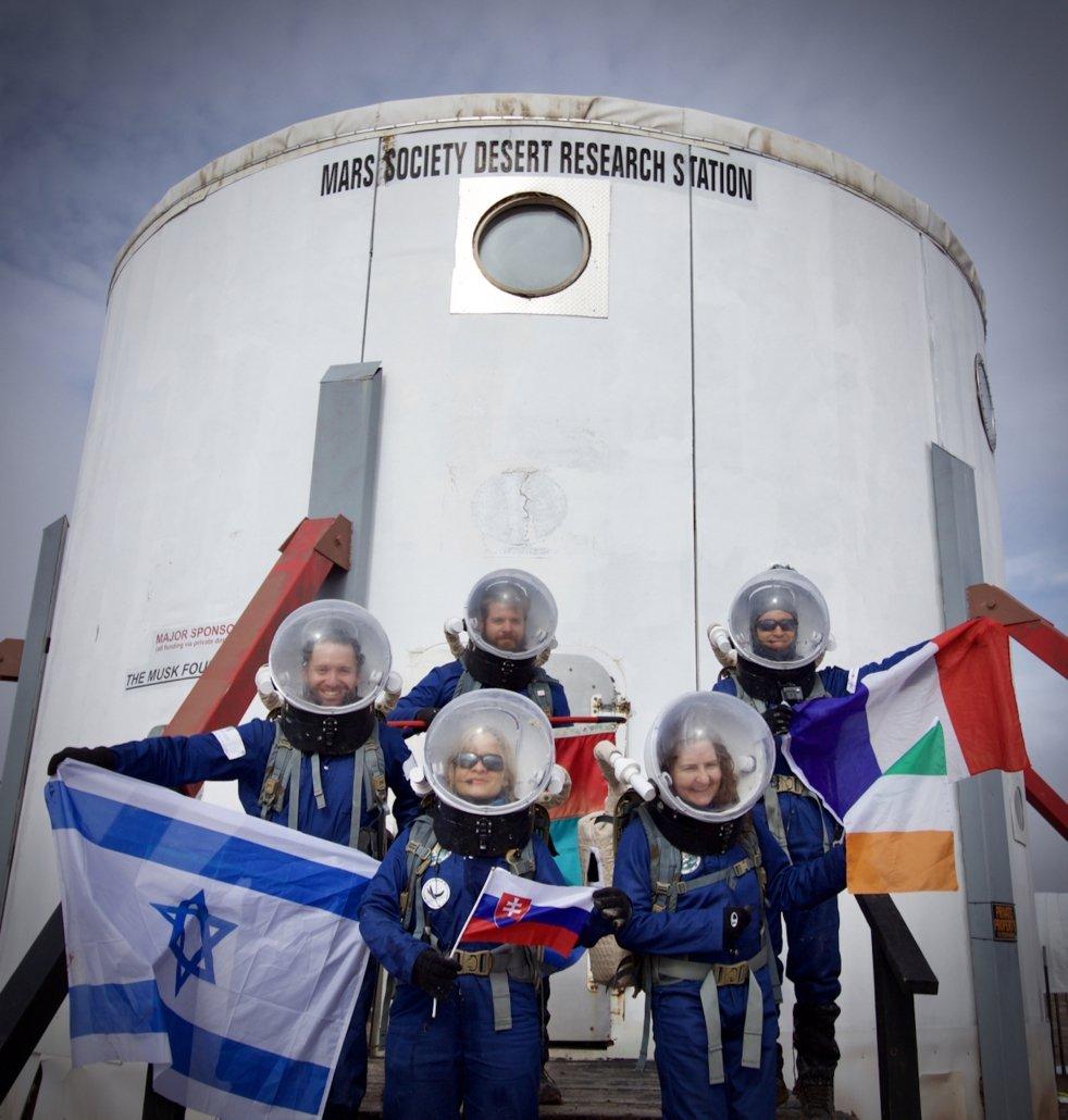 Crew-173-outside-the-MDRS-Habitat-Credit-Niamh-Shaw-1 Niamh Shaw, elon musk, nasa, spacex, engineering, richard branson, communication, stem, astronaut, niamh, scientist, artist, perform, esa, polymath, broadcast, blue origin, virgin galactic, niamh shaw, space exploration, norah patten, zero g, irish astronaut, science communication, women in stem, roscosmos, female astronauts, jaxa, baikonur, irish engineering, ireland's first astronaut, multi disciplined, stem advocate, female space explorer, irelands first female astronaut, irelands first person in space, irish female activist, irish female polymath, irish female role model, irish female trailblazer, irish role models, irish space explorer, performer & communicator & space explorer, space advocate, stem communicator
